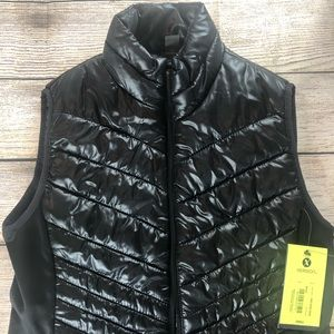 NWT! Black Xersion Puffy Vest